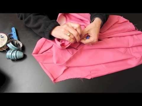 Alta Costura Clase 54C, Cómo Pegar Mangas Rectas a Blusa