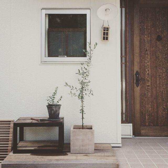 手作り/ドア/玄関ドア/DIY/植物/雑貨…などのインテリア実例 - 2015-06-17 14:41:09 | RoomClip(ルームクリップ)