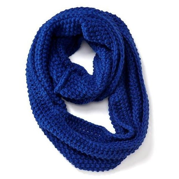 Old Navy Womens Chunky Knit Infinity Scarf ($17) ❤ liked on Polyvore featuring accessories, scarves, blue, blue infinity scarf, tube scarves, blue shawl, chunky knit infinity scarves and old navy