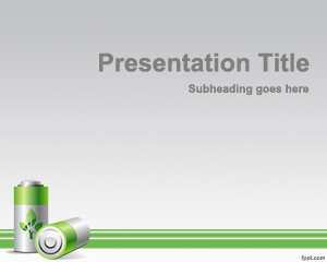 39 best green powerpoint templates images on pinterest templates free green energy powerpoint template with battery a4 toneelgroepblik Choice Image
