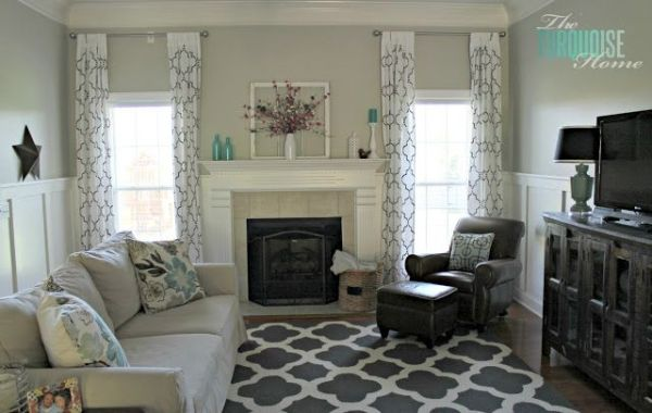 pewter benjamin moore paint | Benjamin Moore Revere Pewter Gray Living Room Paint Color | Involving ... by rebecca2