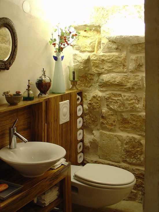 Bon Would Love To Add Stone In My Bathroom For An Irish Feel.