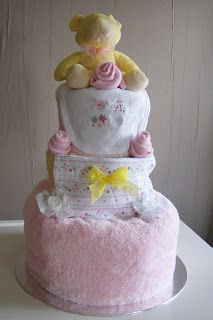 Carol's Crafty Corner: Nappy Cake Tutorial