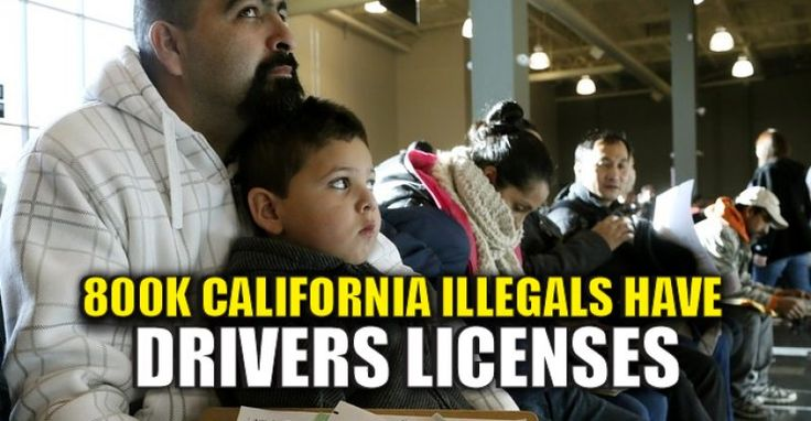 """There's a lot of talk about """"election tampering, """" and many on the left are blaming the Russians (with no proof) for """"hacking"""" the election. However, it appears that a far bigger issue is illegals voting. Not only did Obama give illegals permission to vote during an interview, but in California, the state that gave Hillary her so-called """"popular vote"""" win, illegals are issued drivers licenses at a place where legal Americans register to vote. This law has given 800k illegals a license to…"""