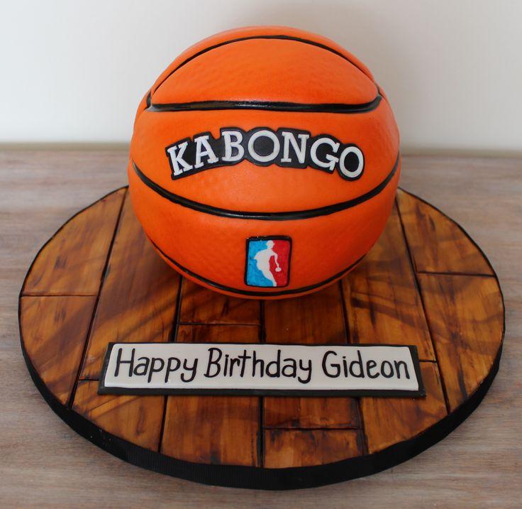 Basketball NBA ball sports sculpted cake