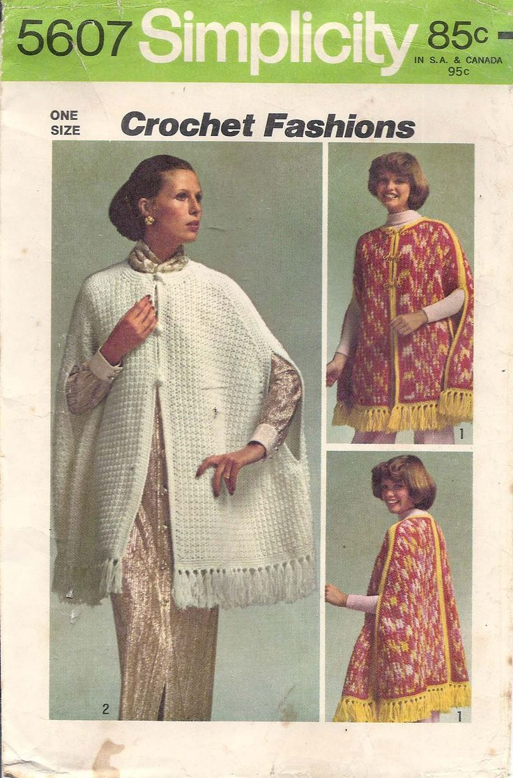 20 ide crochet cape pattern terbaik di pinterest jaket crochet free crocheted cape patterns crochet learn how to crochet bankloansurffo Choice Image