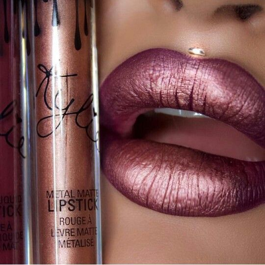 // pinterest @esib123 // #makeup Kylie lipstick