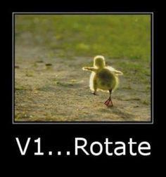 #aviationhumor #v1 #rotate