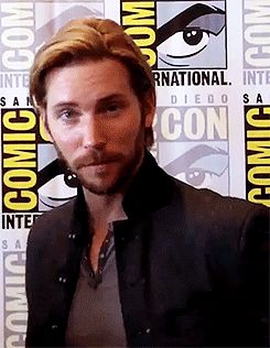 TROY BAKER. Watched him on geek and sundry last night and somehow he is even more attractive now