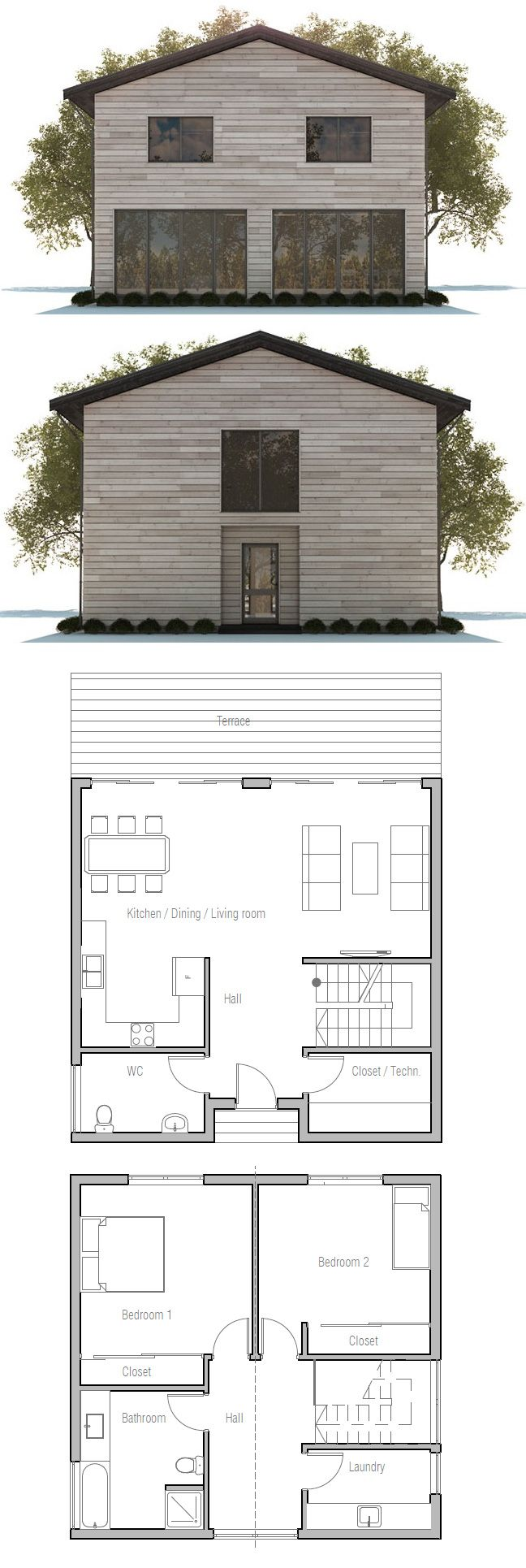 551 best small houses images on pinterest | architecture, small