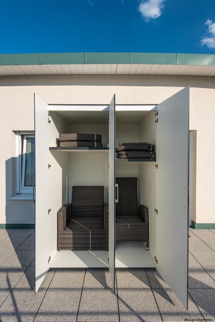 150 besten terrassenschrank balkonschrank gartenschrank outdoor schr nke bilder auf pinterest. Black Bedroom Furniture Sets. Home Design Ideas