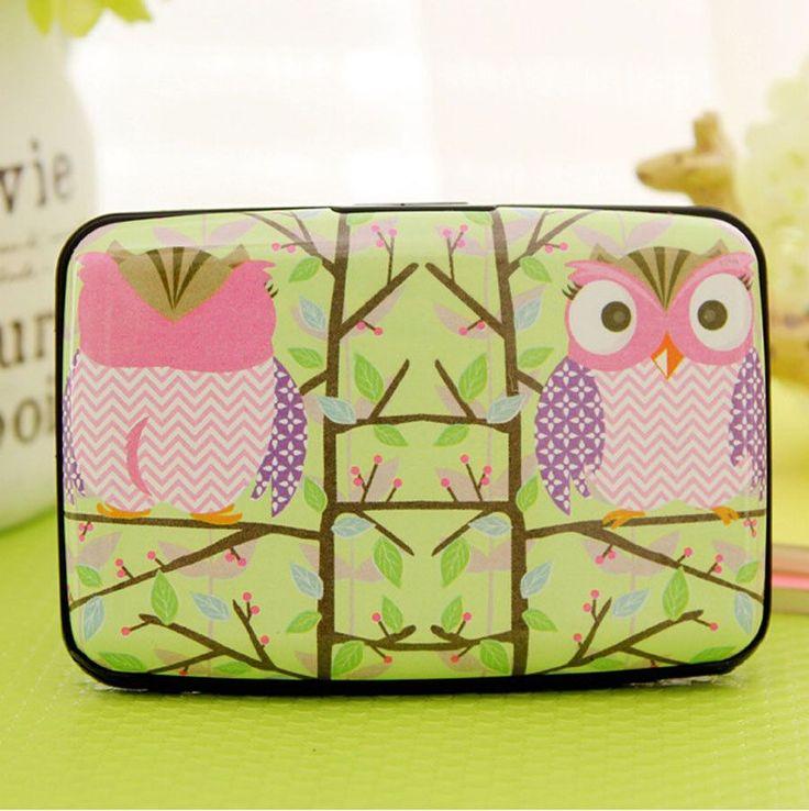 Owl credit card holder