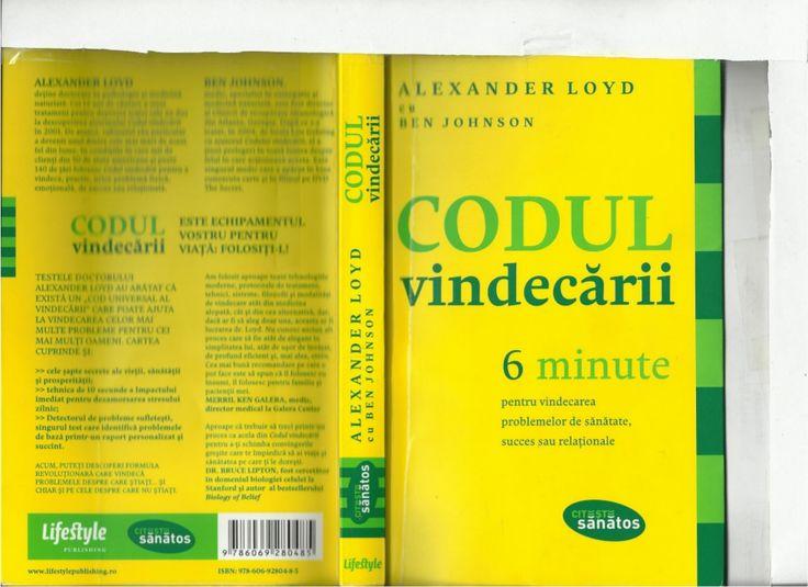 Codul Vindecarii by Paul Marian via slideshare