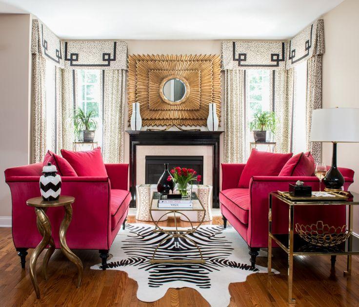 Zebra Print Rooms | Zebra Interiors by Designers