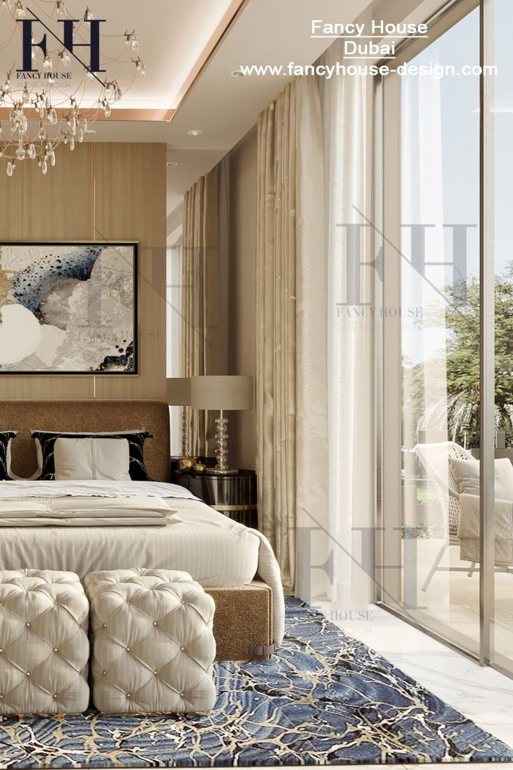 . Awesome interiors for a penthouse in beige style  Get inspiration