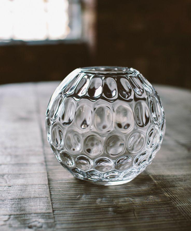 Round Dimple Vase