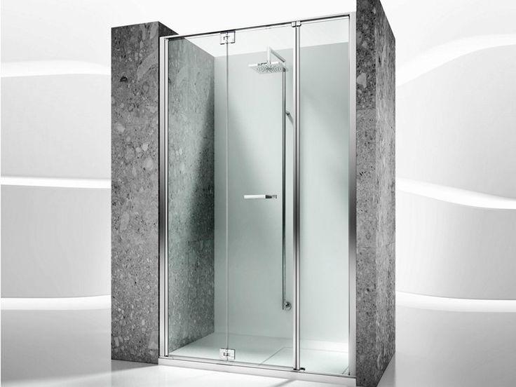 Box doccia a nicchia in vetro temperato REPLAY RM By
