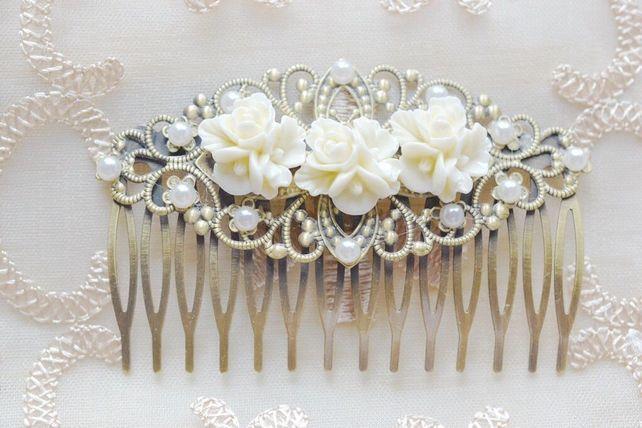 Vintage Style Pretty Hair accessories Wedding Bridal Hair ornaments £7.50