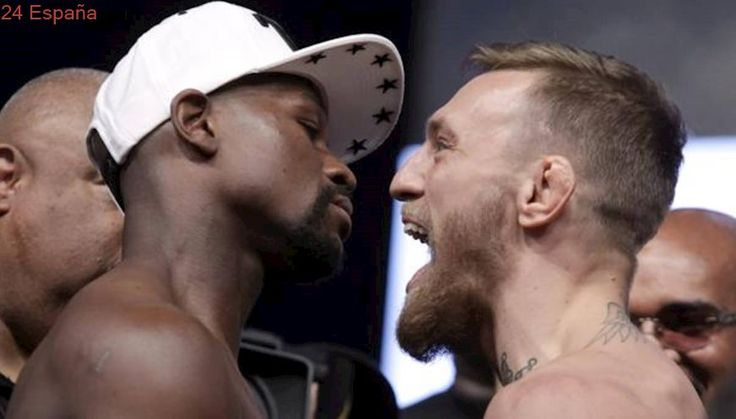Mayweather ganará 100 millones por el combate en Las Vegas; McGregor, 30
