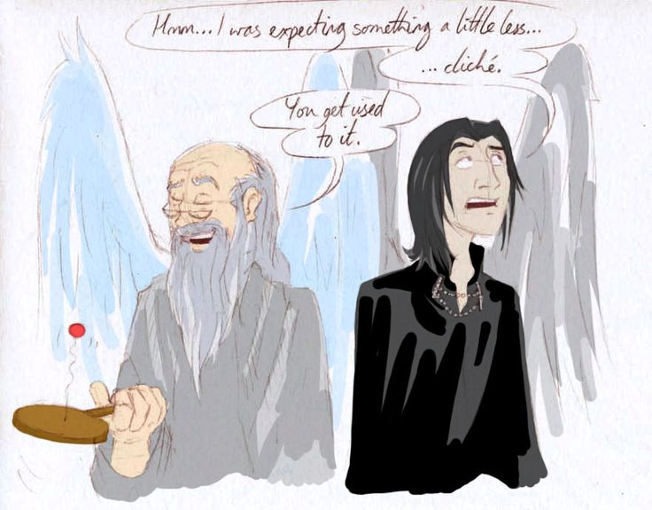 Albus & Snape Fanart by meh_by_olafpriol.