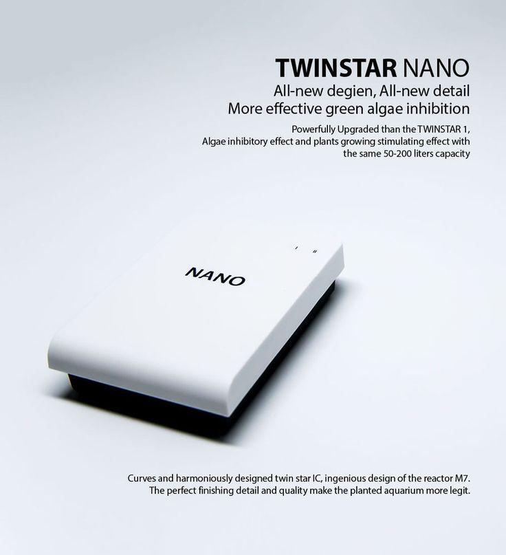 TWINSTAR Nano for 53gal Aquarium Sterilization Algae Inhibition Prevent Disease  #Twinstar