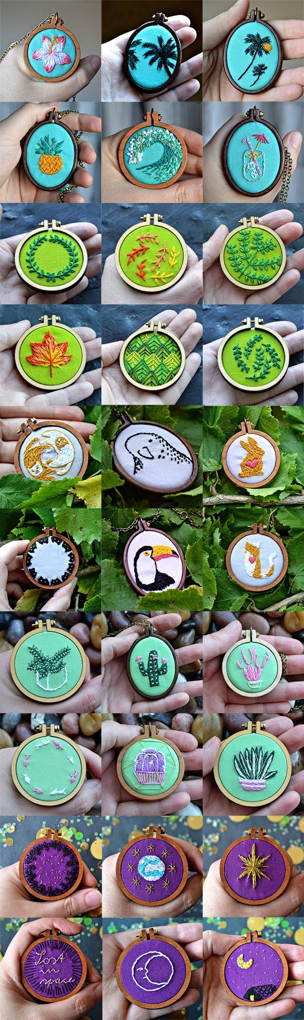 Miniature embroidery – learn all about tiny embroidery