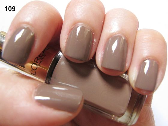 Five L'Oreal Color Riche Nail Polish [Photos & Swatches] | Beauty ...
