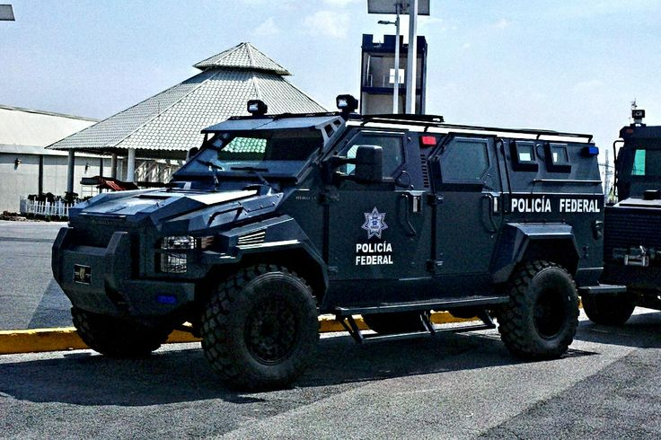 Mexican Police Armored Vehicle.
