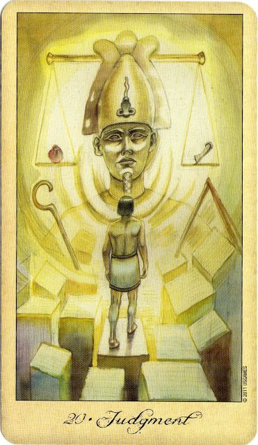 Image result for judgement 20 tarot