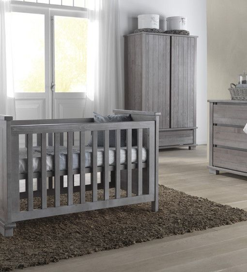 Kidsmill Malmo Grey Nursery Furniture Set Beautiful grey nursery furniture  offers a lovely contemporary looking twist on more conventional white or oak  ...