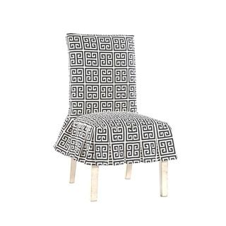 Shop for Roman Key Short Pleated Dining Chair Slipcover. Free Shipping on orders over $45 at Overstock.com - Your Online Home Decor Shop! Get 5% in rewards with Club O!