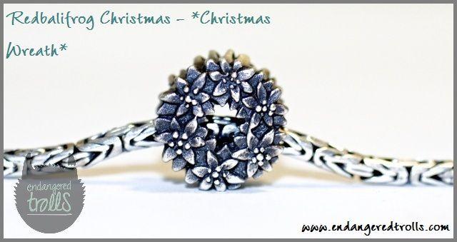 Redbalifrog Christmas Beads - Christmas Wreath
