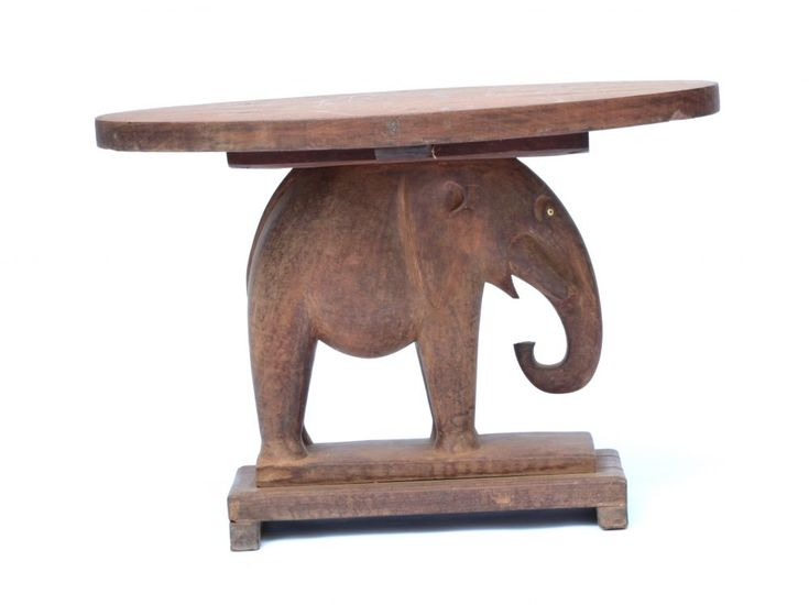 Attractive Elephant Table, African Art On Deco Art Africa