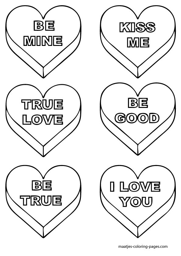 Disney Valentines Day Coloring Pages