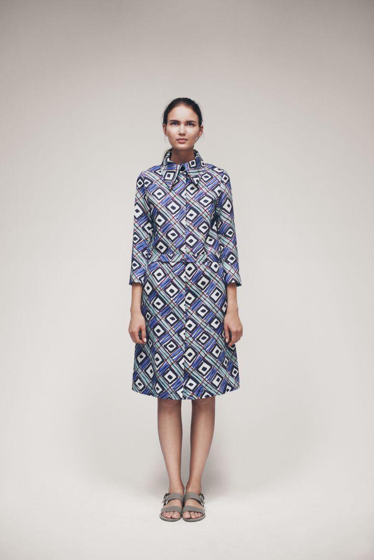 Pea Coat | Samuji SS15 Seasonal Collection