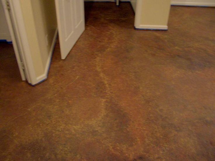Painting Basement Floor For Creating Light Atmosphere Atmosphere Basement Cr In 2020 Basement Flooring Options Painted Concrete Floors Concrete Basement Floors