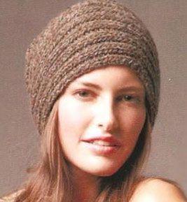 iKnitts: Patrones para Tejer un Sweater Diagonal y Gorro estilo Turbante