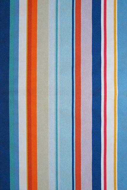 LES TOILES DU SOLEIL fabric CANET EN ROUSSILLON Blanc Roy
