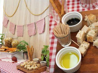 41 melhores imagens sobre decora o festa italiana no - Piamontesa reus ...