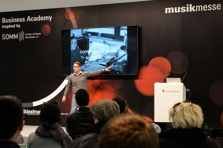 For the third time Musikmesse will present the Business Academy inspired by SOMM. Check out interesting workshops and keynotes during the entire fair in Hall 11.1.