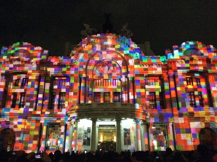 Festival Internacional de la Luz, México D.F. - Palacio de Bellas Artes