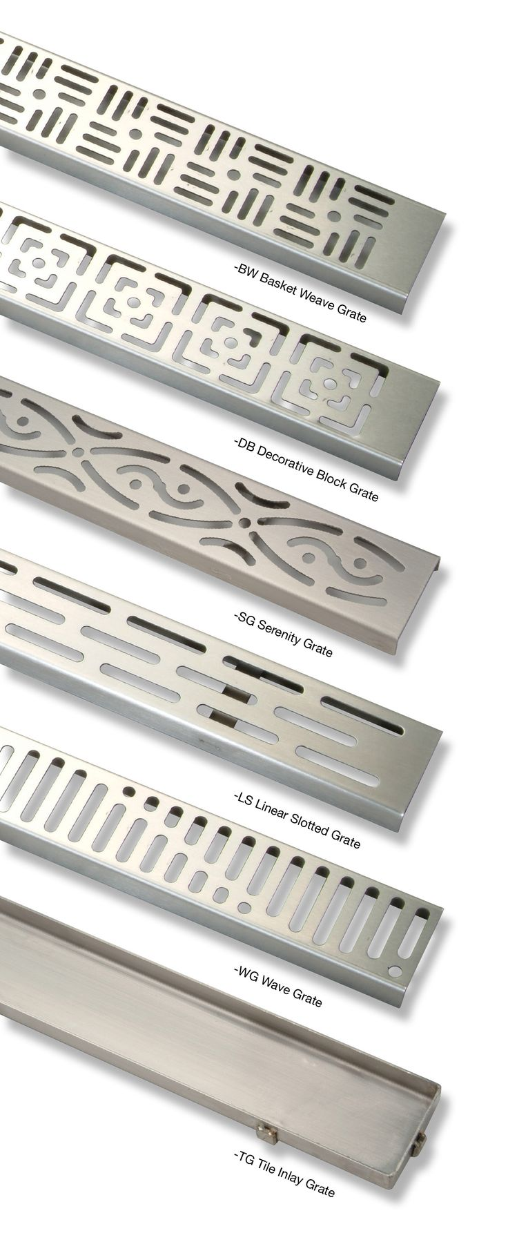 Zurn ZS880 stainless steel linear shower drains | Curbless shower drains