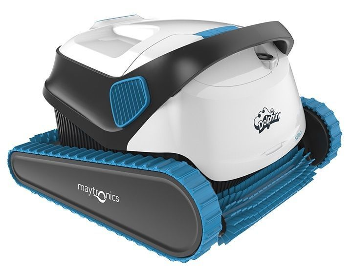 Dolphin S200 in ground robotic pool cleaner by Maytronics