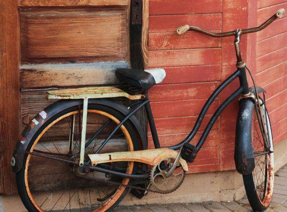 Rustic Vintage Bike Original Fine Art Photography Print or Canvas Available