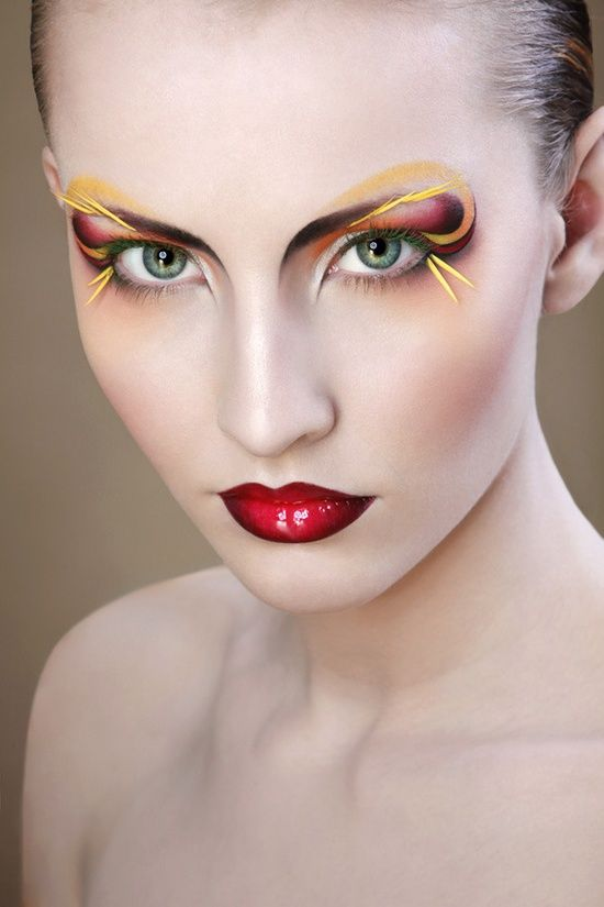 17 Best images about Lovely, Funky, Beautiful Makeup on ...
