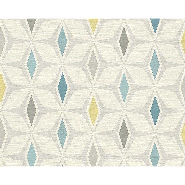 Best 25+ Midcentury wallpaper ideas on Pinterest | Geometric wallpaper retro, Vintage geometric ...