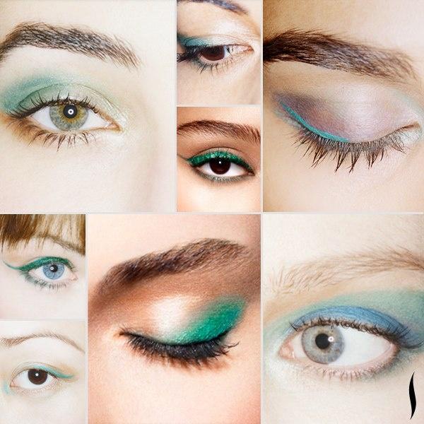 emerald & green #eyeshadow