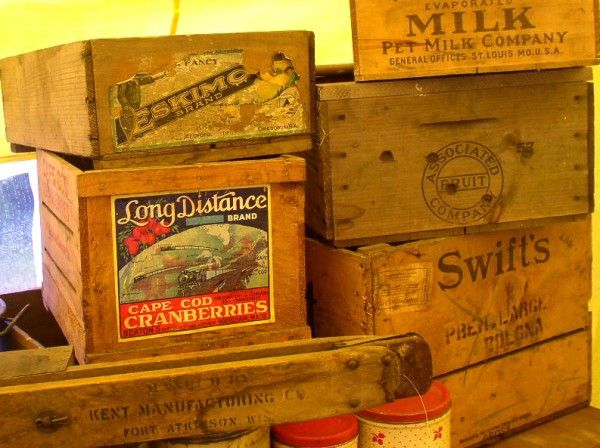 Luxurious Of Antique Wooden Crates