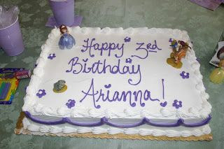 sofia the first cake | Sofia the First Party | Teething on Tiaras