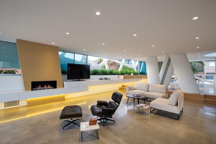 interior ... modern home on Australia's Bronte Beach | Architects: MPR Design Group | Location: Hewlett Street, Bronte Beach, Australia | Photographs: Courtesy of MPR Design Group